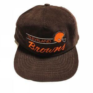 Vintage Annco Cleveland Browns Corduroy Hat